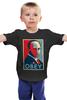 "Детская футболка ""Путин (Obey)"" - звезда, россия, президент, putin, повинуйся"