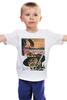 """Детская футболка классическая унисекс """"The Good, the Bad and the Ugly - Stanley Leads"""" - иероглифы, вестерн, хороший плохой злой, клинт иствуд, серджо леоне"""