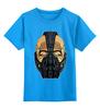 """Детская футболка классическая унисекс """"Бейн (Bane)"""" - batman, бэтмен, bane, суперзлодей, бейн"""