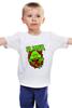 """Детская футболка """"Лизун (Slimer)"""" - охотники за привидениями, лизун, slimer"""