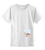 """Детская футболка классическая унисекс """"Милый домик"""""""