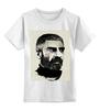 """Детская футболка классическая унисекс """"Довлатов"""" - писатели, писатель, журналист, sergei dovlatov, сергей довлатов"""