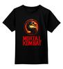 """Детская футболка классическая унисекс """"мортал комбат"""" - mortal kombat, смертельная битва, 90's, fighting, video game"""