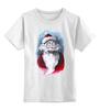 """Детская футболка классическая унисекс """"Funny Santa"""" - новый год, santa claus, санта-клаус"""