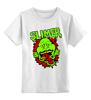 """Детская футболка классическая унисекс """"Лизун (Slimer)"""" - охотники за привидениями, ghostbusters, лизун"""
