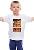 """Детская футболка классическая унисекс """" dollar trilogy"""" - хороший плохой злой, леоне, el indio, eastwood, долларовая трилогия"""