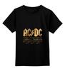 """Детская футболка классическая унисекс """"AC/DC"""" - music, rock, золото, кумиры, автралия"""