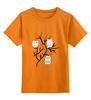 "Детская футболка классическая унисекс ""Owl's party"" - арт, party, сова, пати, совэ"