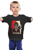 """Детская футболка классическая унисекс """"No Future (без будущего)"""" - противогаз, человек, urban, урбанизация, no future"""