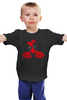"""Детская футболка классическая унисекс """"Deadpool Love Taco"""" - deadpool, дэдпул"""