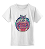 """Детская футболка классическая унисекс """"Лис Лис  """" - арт, животные, природа, лис, fox, лиса"""