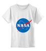 """Детская футболка классическая унисекс """"Свитшот NASA """" - наса"""