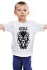 "Детская футболка ""Lycanthrope"" - арт, мандала, волк, оборотень, wolf, werewolf, вензель, mandala"