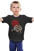 """Детская футболка классическая унисекс """"Бросок тигра"""" - хищник, животные, tiger, тигр, пантера"""