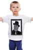 """Детская футболка классическая унисекс """"DeadBroke"""" - арт, man, стиль, рисунок, hat, tie, алина макарова"""