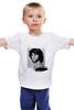 """Детская футболка классическая унисекс """"Jim Morrison """" - jim morrison, the doors, джим моррисон, психоделический рок"""