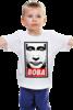 """Детская футболка классическая унисекс """"Вова Путин"""" - путин, президент, putin, вова, president, владимир владимирович"""