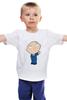 """Детская футболка """"    Стьюи"""" - funny, family guy, evil genius"""
