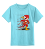 """Детская футболка классическая унисекс """"Flash Dead"""" - skull, череп, скелет, flash, флэш"""
