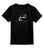 """Детская футболка классическая унисекс """"Левая Акула"""" - мем, left shark, левая акула, кэтти пэрри"""