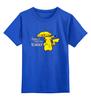 """Детская футболка классическая унисекс """"Как я встретил тренера"""" - мультфильм, pokemon, покемон, пикачу"""