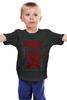 """Детская футболка """"Slipknot"""" - slipknot, петля, скользящий узел"""