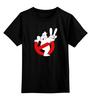 """Детская футболка классическая унисекс """"Ghostbusters"""" - охотники за привидениями, ghost, ghostbusters"""