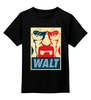 "Детская футболка классическая унисекс ""Walter White (Breaking Bad)"" - во все тяжкие, breaking bad, уолтер уайт, walt"