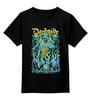 """Детская футболка классическая унисекс """"Art Horror"""" - skull, череп, гроб, coffin, darkside"""