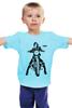 """Детская футболка классическая унисекс """"Rockers"""" - girl, байкер, байк, bike, caferacers"""
