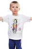 """Детская футболка классическая унисекс """"horse"""" - лошадь, 2014, год, year of the horse"""