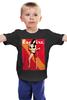 """Детская футболка """"Esquire / Келли Брук"""" - ноги, модель, актриса, журнал, келли брук"""