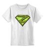 """Детская футболка классическая унисекс """"Zombie man"""" - zombie, зомби, dead, мертвец"""