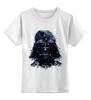 """Детская футболка классическая унисекс """"Darth Vader v.2"""" - star wars, darth vader, звездные войны"""
