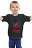 """Детская футболка классическая унисекс """"Охотник на Зомби"""" - zombie, dead, hunter, охотник на зомби"""
