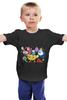 """Детская футболка """"Няшный adventure time"""" - adventure time, время приключений"""