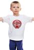 """Детская футболка """"Born in USSR"""" - звезда, ссср, красный, ussr, герб, ностальгия, советский союз"""