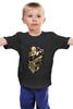 """Детская футболка классическая унисекс """"шекспир тату черная"""" - карты, шекспир, татуировки"""