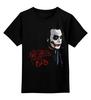 """Детская футболка классическая унисекс """"Joker"""" - joker, batman, джокер, dc, темный рыцарь, the dark knight, бентма"""