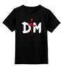 """Детская футболка классическая унисекс """"Depeche Mode"""" - depeche mode, депеш мод, dm, martin lee gore, david gahan"""