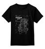 """Детская футболка классическая унисекс """"Gotham City Map"""" - comics, карта, комиксы, batman, город, бэтмен, dc, gotham, gotham city, готэм"""