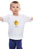 """Детская футболка """"Слишком милый, чтобы съесть"""" - веган, vegan, цыпленок, слишком милый"""