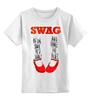 """Детская футболка классическая унисекс """"Swag Art"""" - музыка, swag, обувь, блюз, blues"""