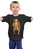 """Детская футболка классическая унисекс """"Master Roshi (Dragon Ball)"""" - аниме, манга, дед, жемчуг дракона, master roshi"""