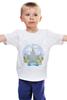 """Детская футболка классическая унисекс """"МГУ """" - москва, moscow, дизайн, россия, мгу, university, lomonosov"""