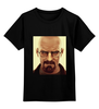 "Детская футболка классическая унисекс ""хайзенберг"" - арт, мистер хайзенберг, сериалы, фильмы, breaking bad"
