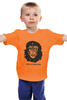 """Детская футболка классическая унисекс """"Viva La Evolution"""" - обезьяна, че гевара, куба, эволюция, che guevara"""
