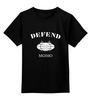 """Детская футболка классическая унисекс """"Defend MGIMO"""" - мгимо, urban union, defend, defend moscow, defend mgimo"""