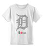 """Детская футболка классическая унисекс """"EMINEM DETROIT"""" - eminem, beautiful, эминем, detroit, детройт"""