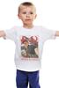 """Детская футболка классическая унисекс """"ВПЕРЁД НА ЗАПАД!"""" - россия, 9 мая, день победы"""